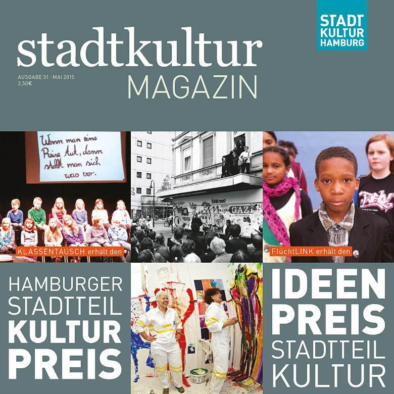stadtkultur magazin Nr. 31: Hamburger Stadtteilkulturpreis 2015