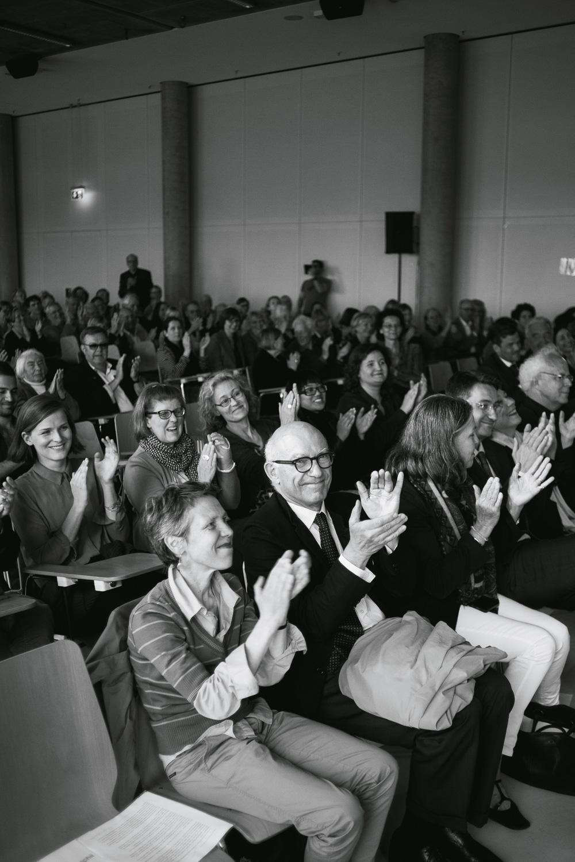 Beifall für das Projekt und seine Künstler, Foto: Jo Larsson