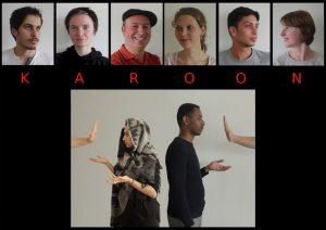 Theatergruppe Karoon: Baustelle Integration, Foto: Sophie Knauerhase