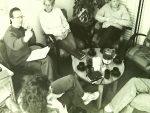 Sitzung im Büro am Herrengraben, Foto: Thomas Ricken