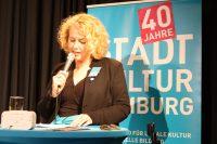Die Geschäftsführerin Corinne Eichner blickt in Gegenwart und Zukunft des Verbandes.