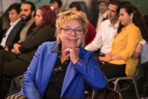 Es moderierte die freie Journalistin Catarina Felixmüller