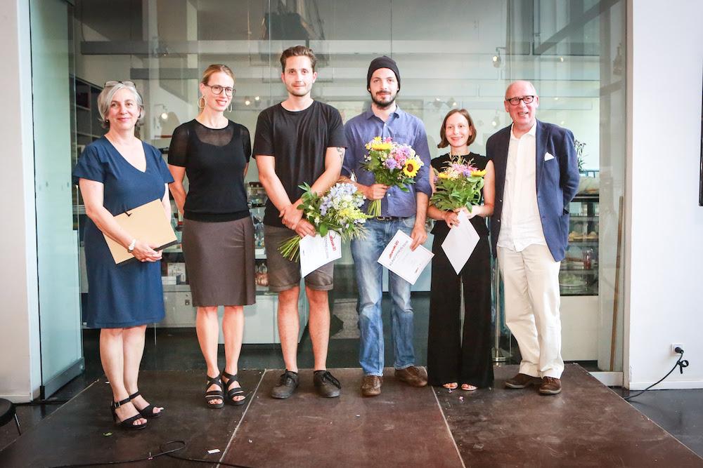 Foto: (v.l.n.r.) Monika Baum, Inga Wellmann, Stefan Klein, Leon Daniel, Valeska Stach, Gerhard Fiedler