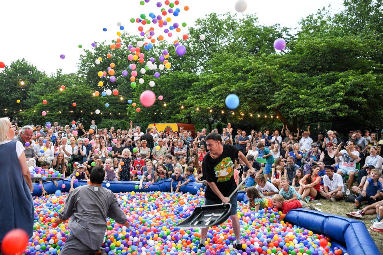 Einmal ins Bällebad - GOMA erfüllte kleinen und großen Besuchern diesen Wunsch, Foto: Thomas Panzau