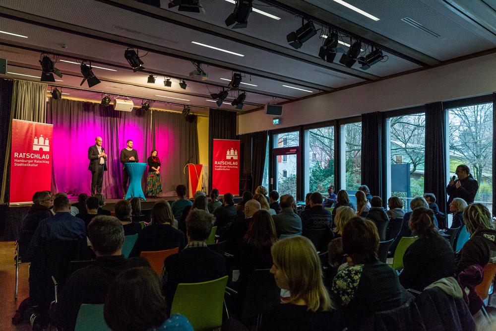 TALK zu den Keynotes, Foto: Miguel Ferraz