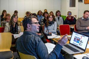 Sessions zu Aspekten der Digitalisierung, Foto: Miguel Ferraz