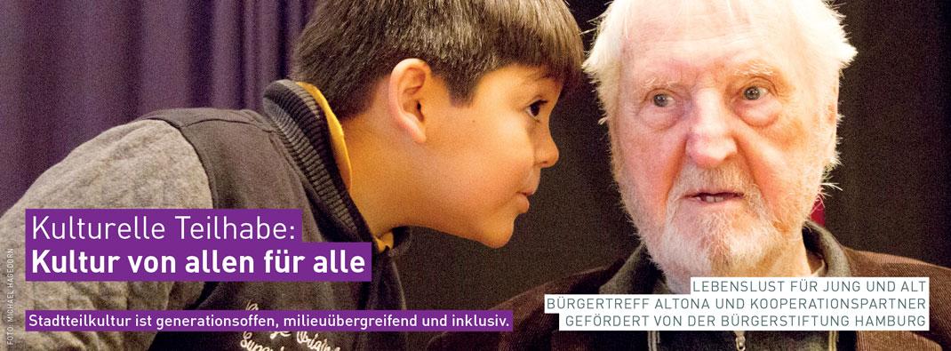 Stadtteilkultur in Hamburg: KULTURELLE TEILHABE – Kultur von Allen für Alle