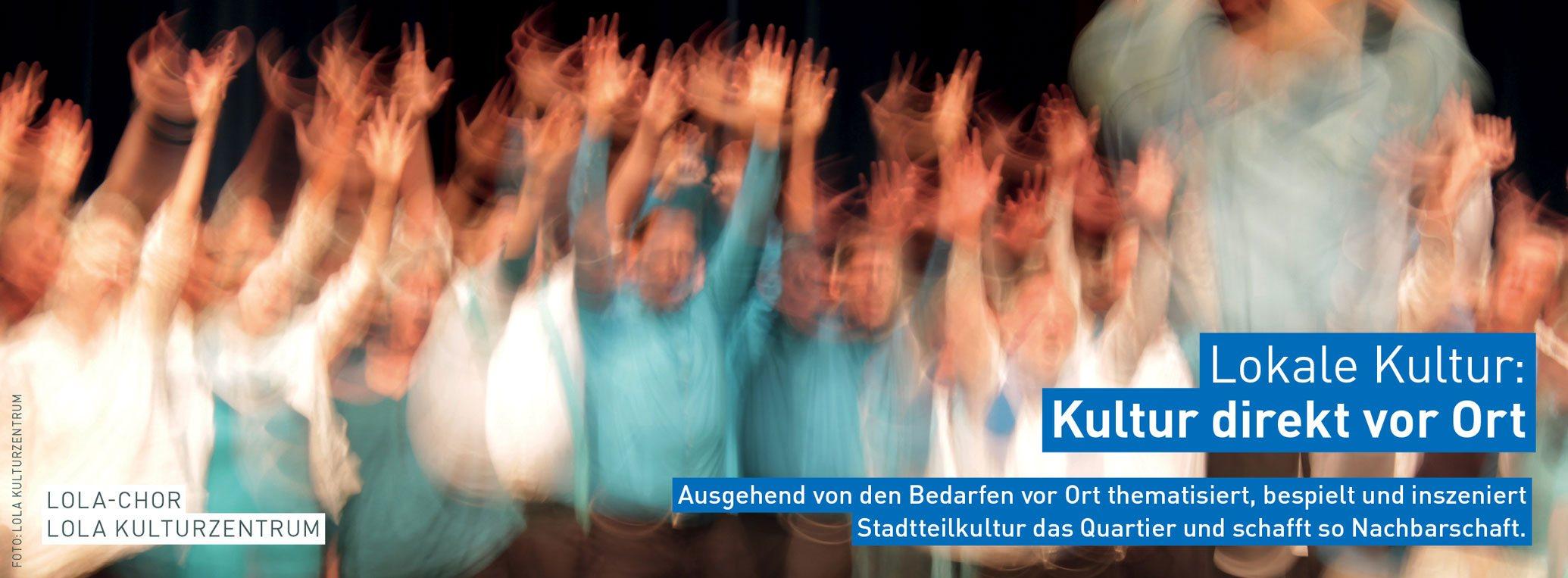 Stadtteilkultur in Hamburg: LOKALE KULTUR – Kultur direkt vor Ort