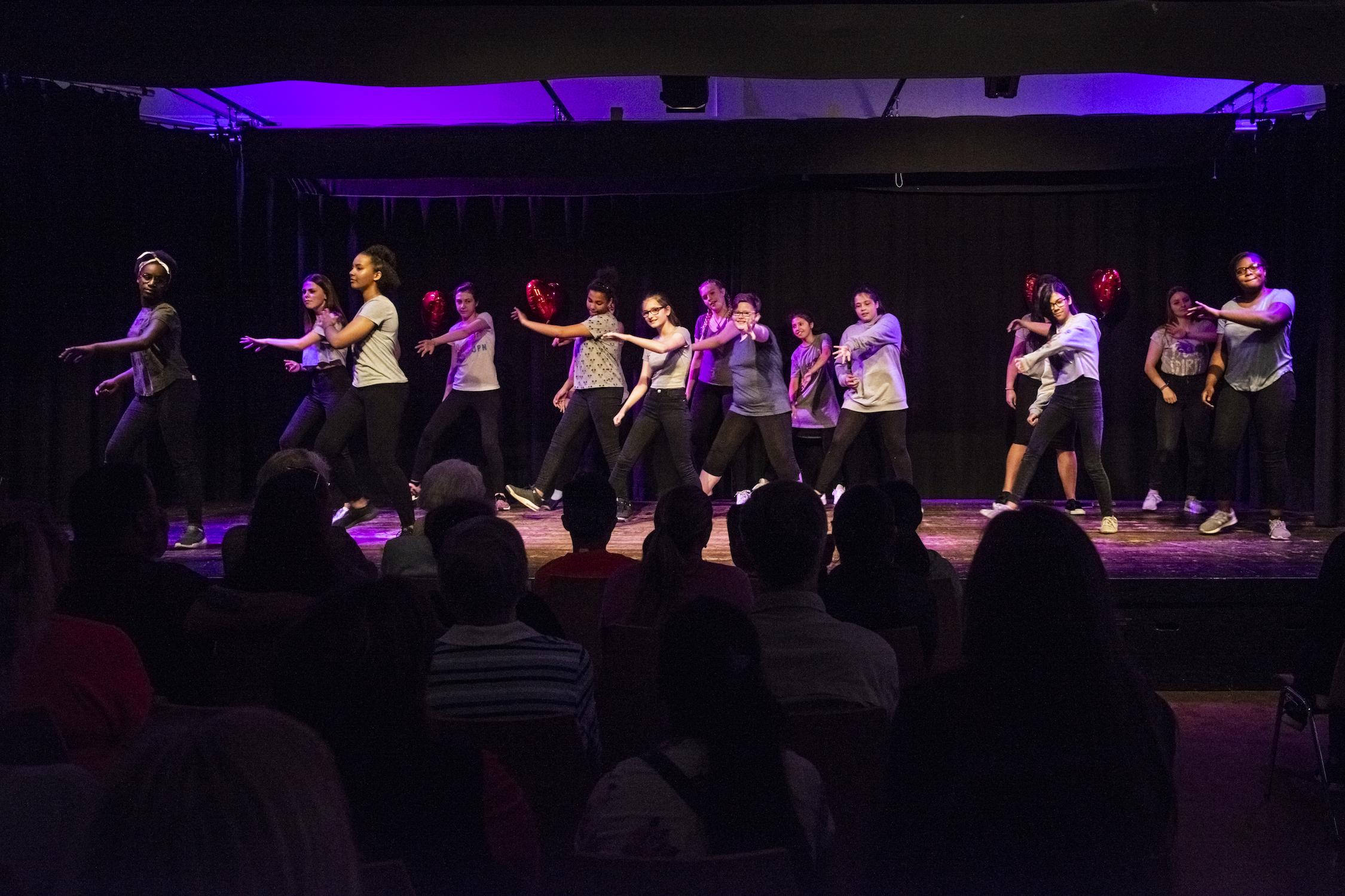 Die Jenkitos auf der Bühne, Foto: Dörte Ebermann