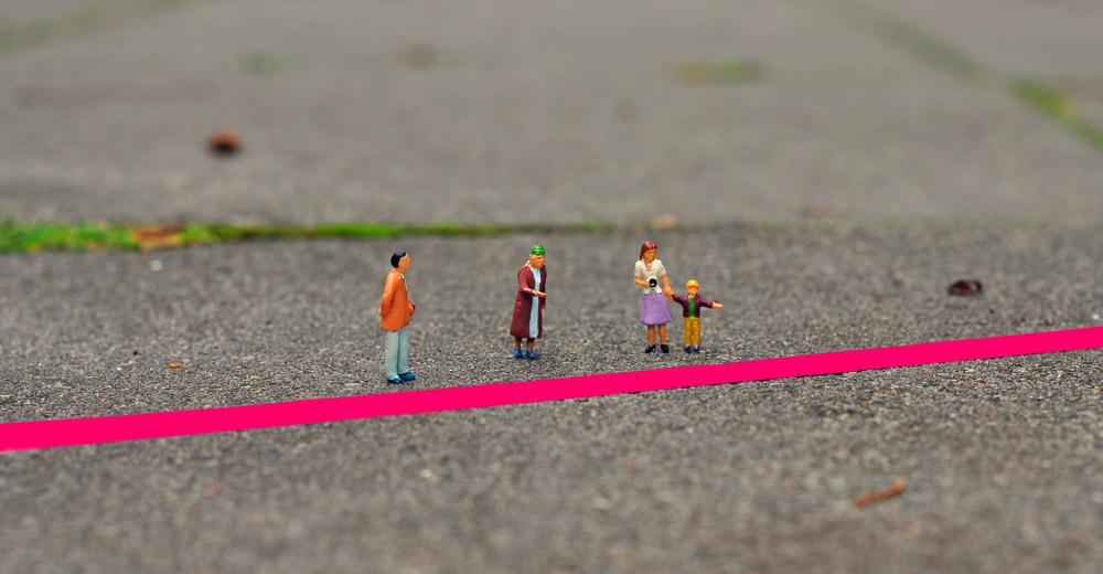 Wo sind unsere roten Linien? Foto Heiko Gerken