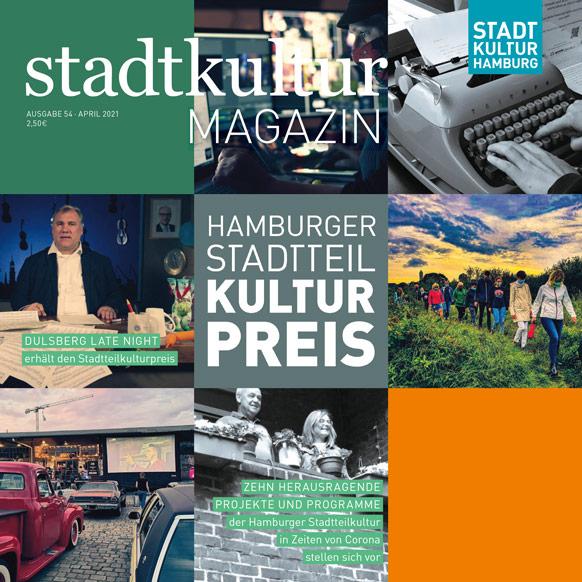 Stadtkultur Magazin Nr. 54: Der Hamburger Stadtteilkulturpreis 2021