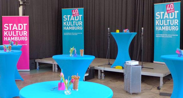 Der Dachverband STADTKULTUR HAMBURG wird 40
