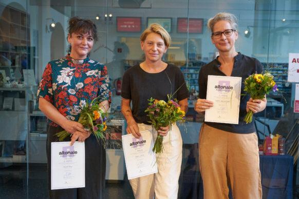 Gewinnerinnen des altonale Kunstpreis 2021
